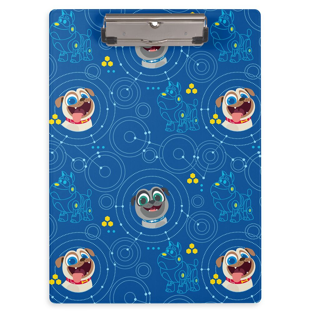 Bingo and Rolly Clipboard  Puppy Dog Pals  Customizable Official shopDisney
