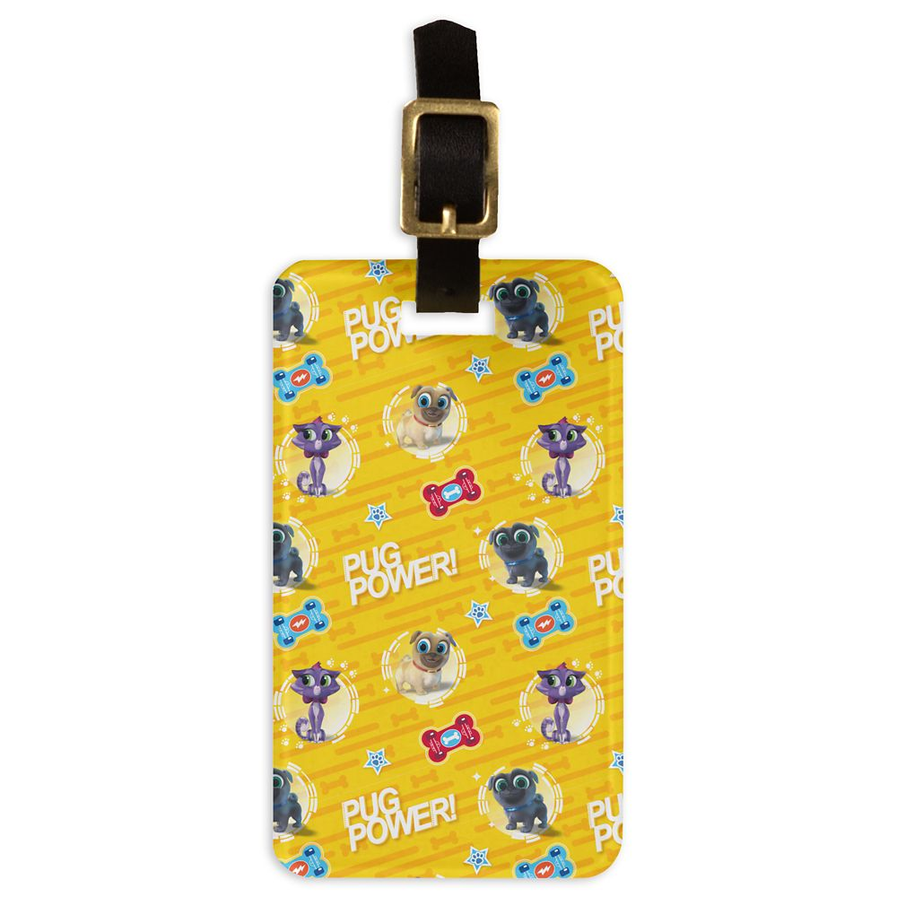 Puppy Dog Pals ''Pug Power'' Luggage Tag  Customizable Official shopDisney