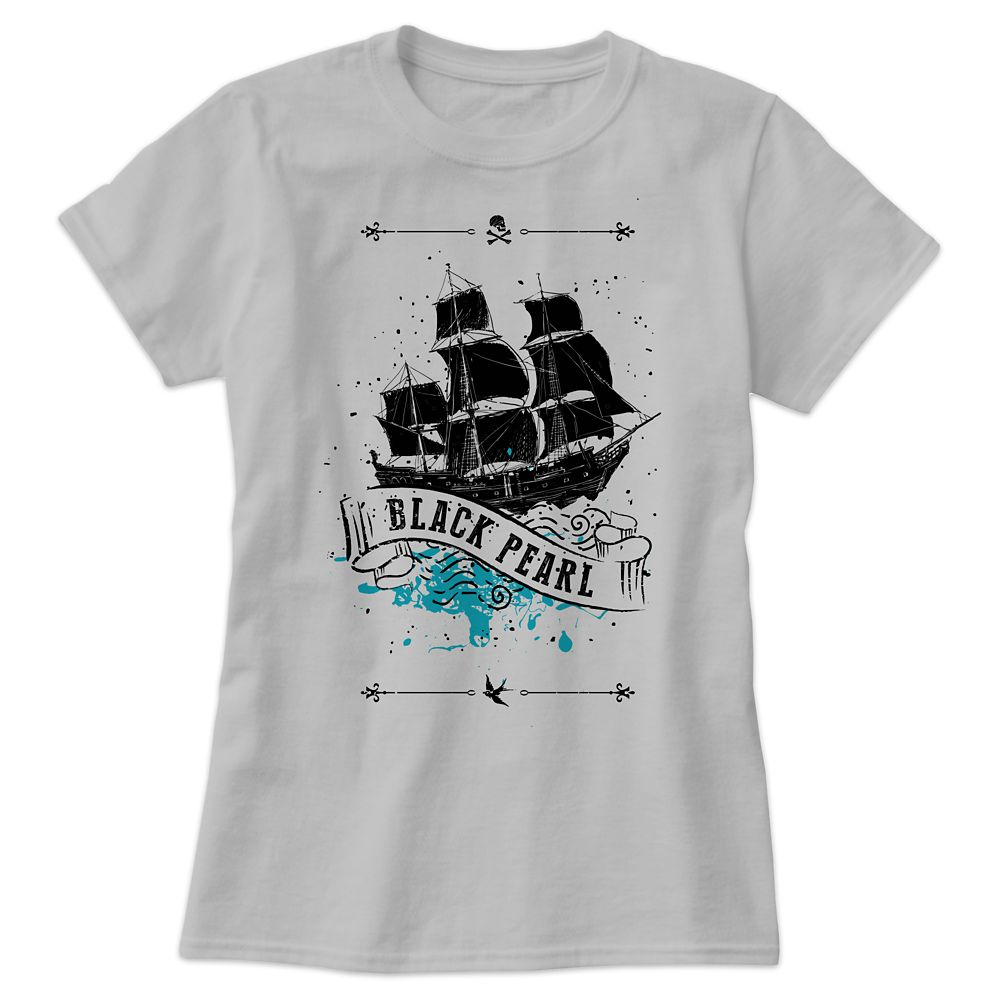 Black Pearl Tee for Women – Pirates of the Caribbean: Dead Men Tell No Tales  – Customizable