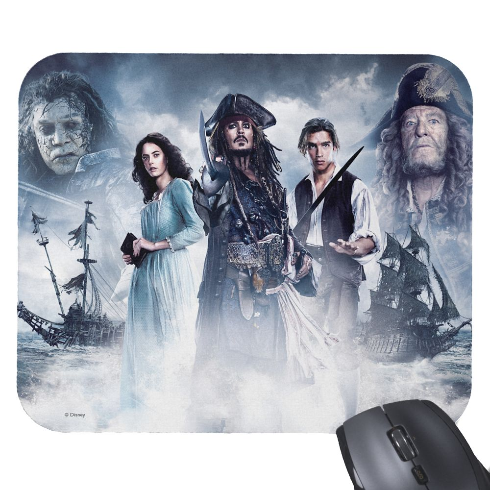 Pirates of the Caribbean: Dead Men Tell No Tales Mouse Pad – Customizable