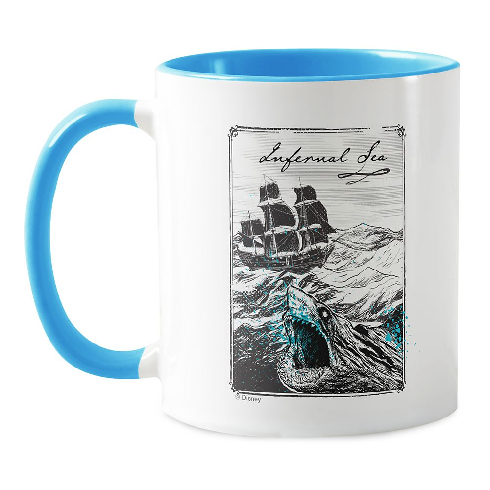 Pirates of The Caribbean: Dead Men Tell No Tales ''Infernal Sea'' Coffee Mug – Customizable