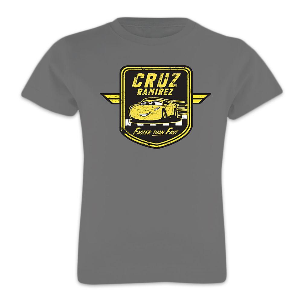 Cruz Ramirez Tee for Girls  Cars 3  Customizable Official shopDisney