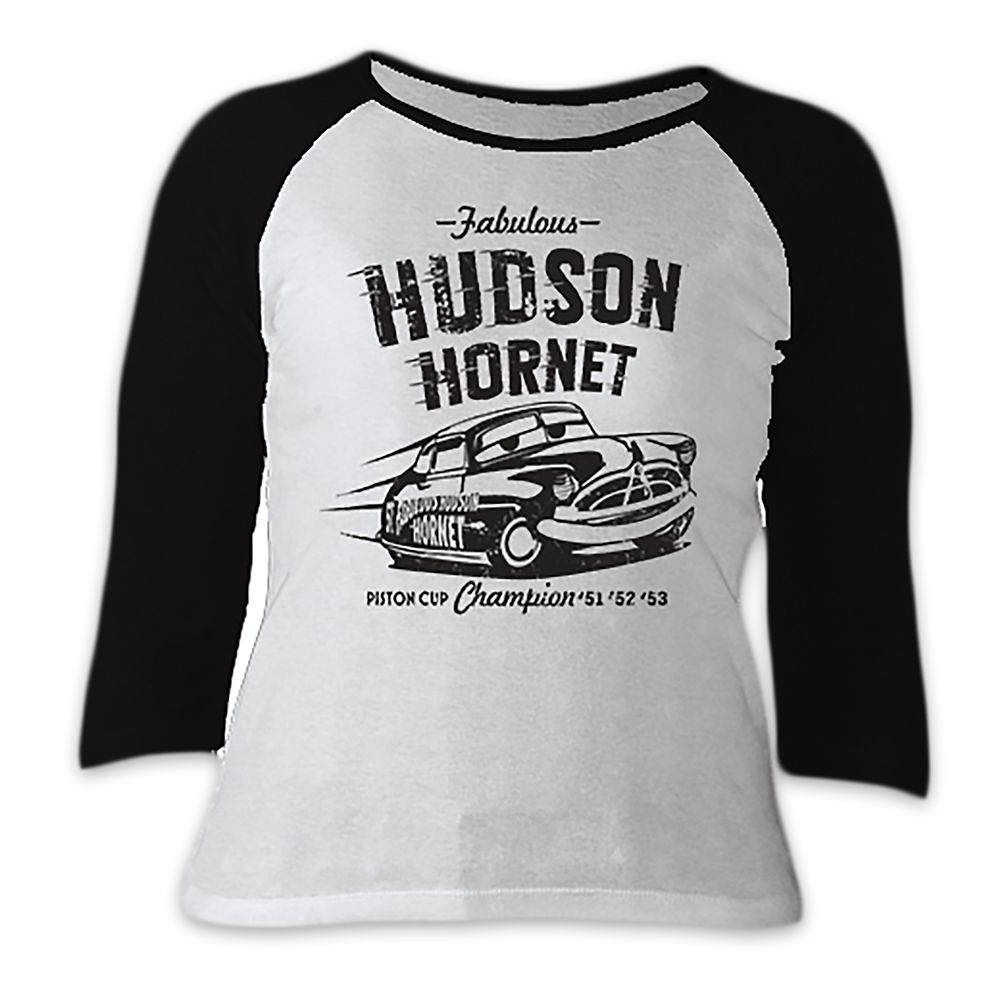 Hudson Hornet Raglan Tee for Women  Cars 3  Customizable Official shopDisney