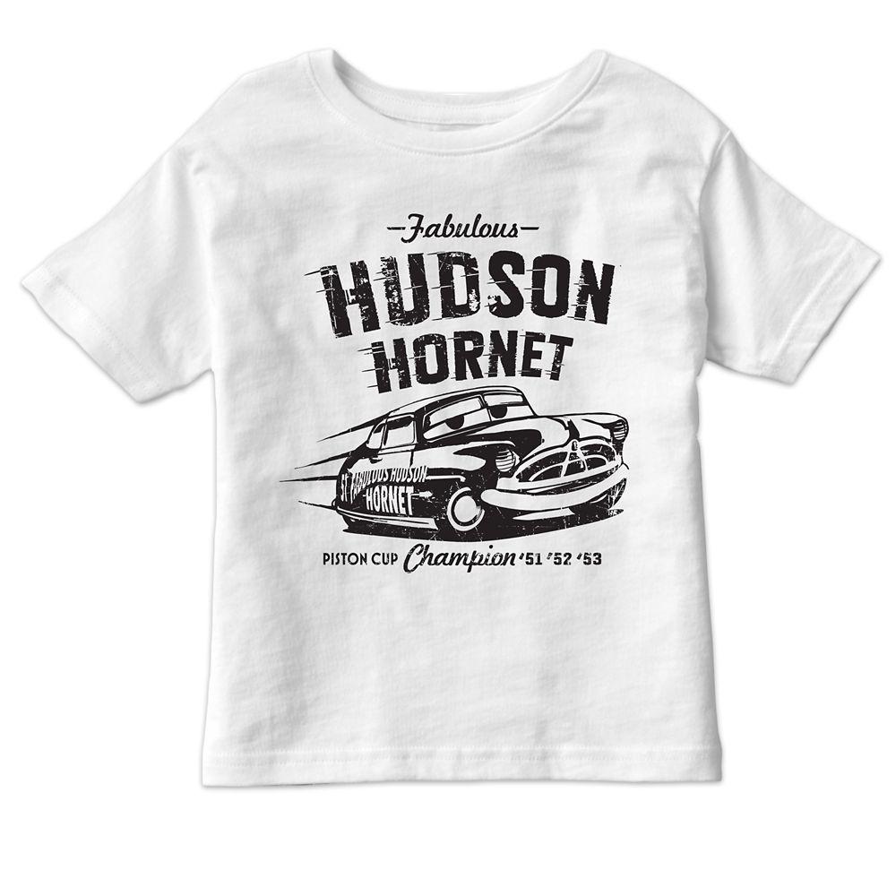 Hudson Hornet Tee for Kids – Cars 3 – Customizable