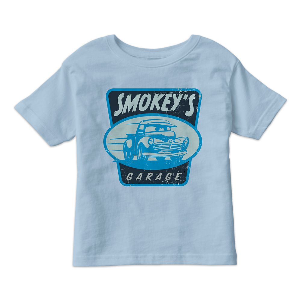 Smokey's Garage Tee for Kids  Cars 3  Customizable Official shopDisney