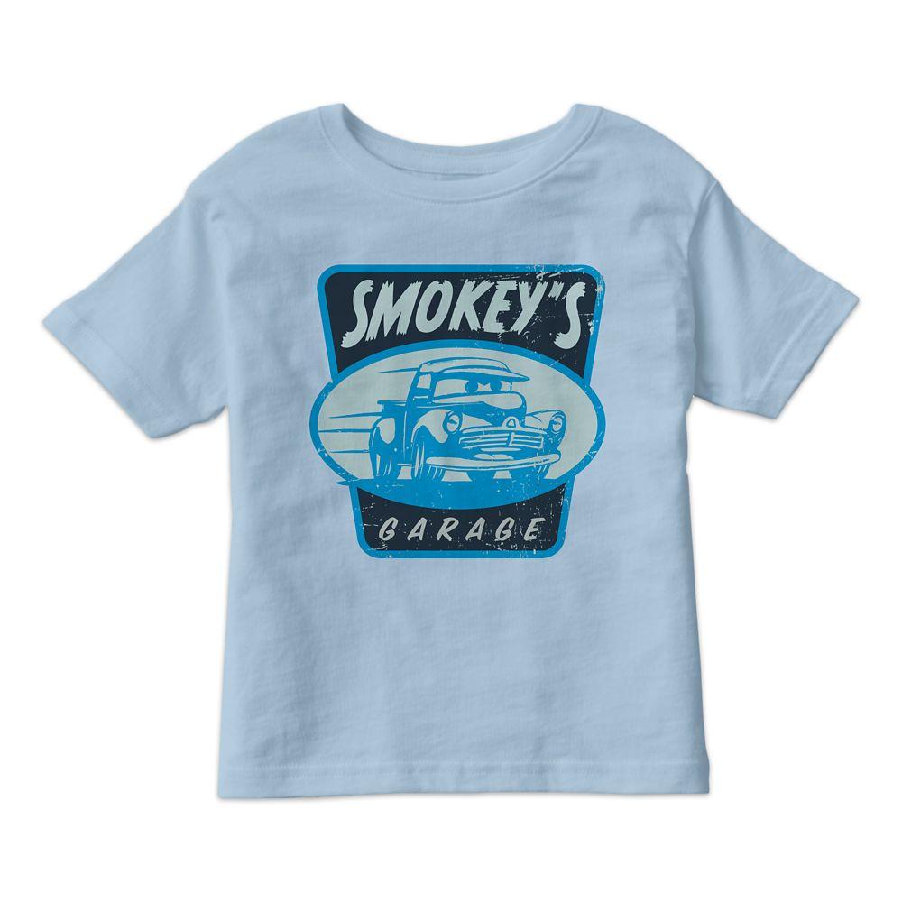Smokey's Garage Tee for Kids – Cars 3 – Customizable