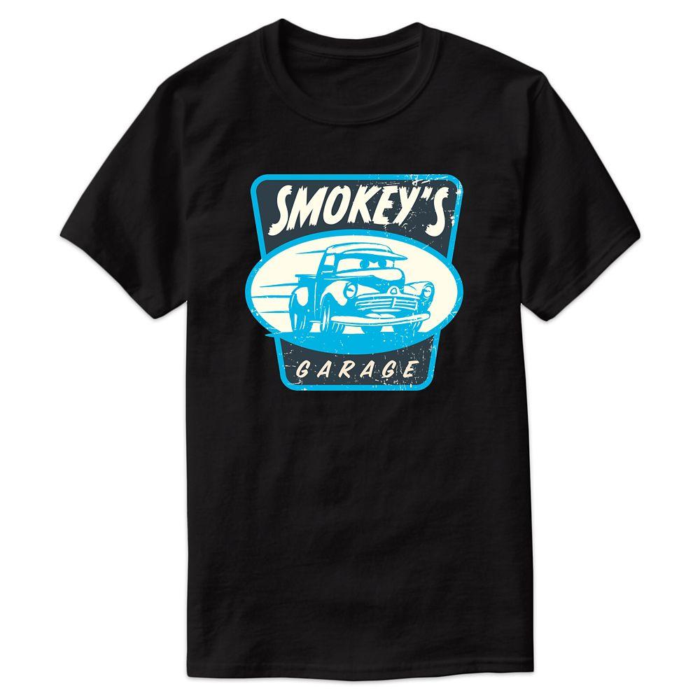 Smokey's Garage Tee for Men  Cars 3  Customizable Official shopDisney