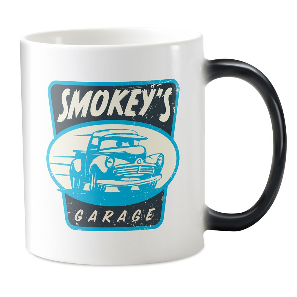 Smokey's Garage Morphing Mug – Cars 3 – Customizable