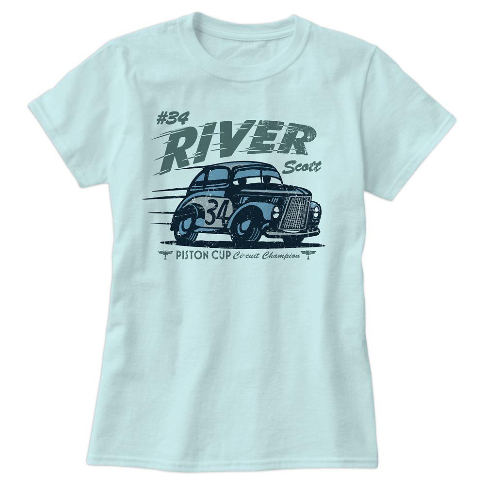 River Scott Tee for Women  Cars 3  Customizable Official shopDisney