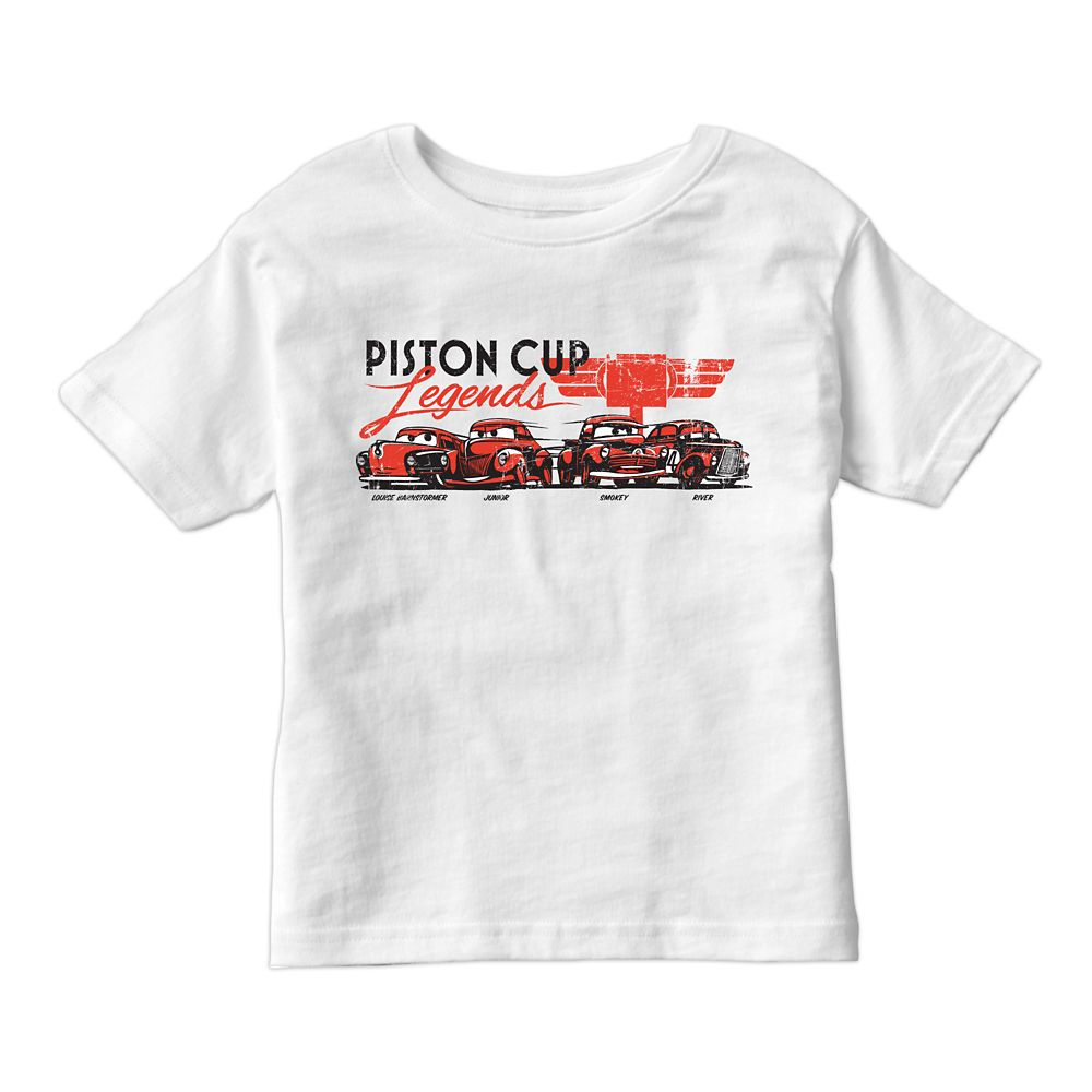Cars 3 Piston Cup Champions Tee for Kids – Customizable