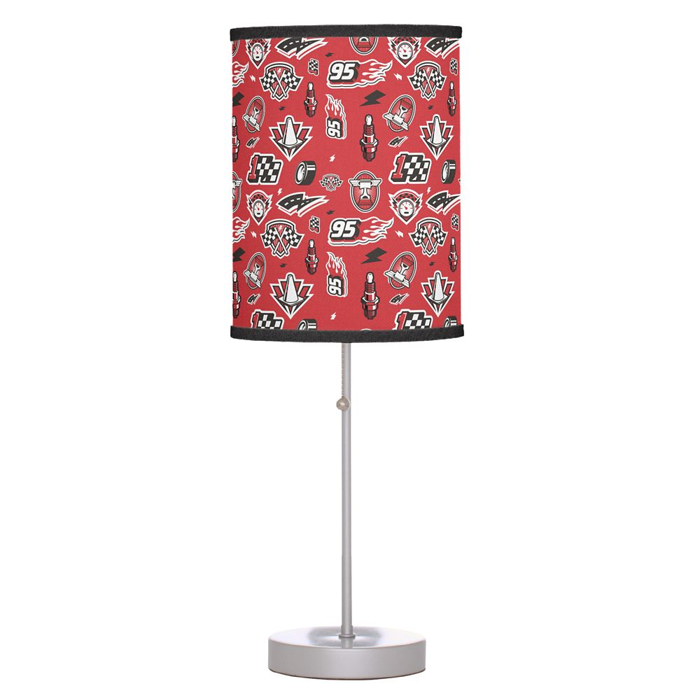 Lightning McQueen Icons Table Lamp – Cars 3 – Customizable