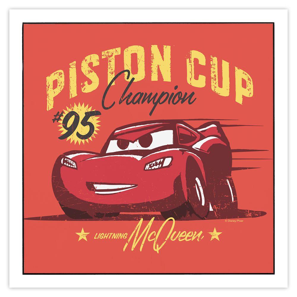 Lightning McQueen Wall Art  Cars 3  Customizable Official shopDisney