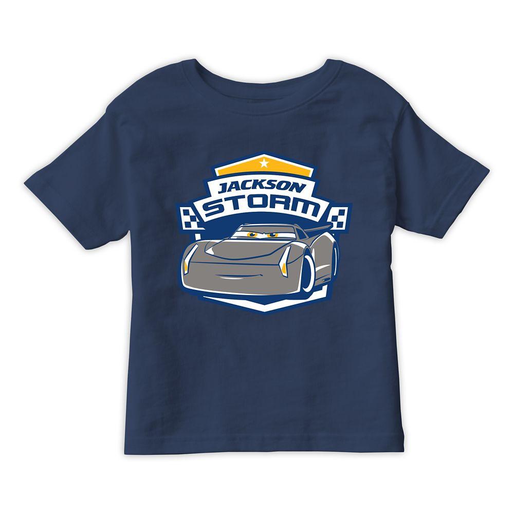 Jackson Storm Tee for Kids  Cars 3  Customizable Official shopDisney
