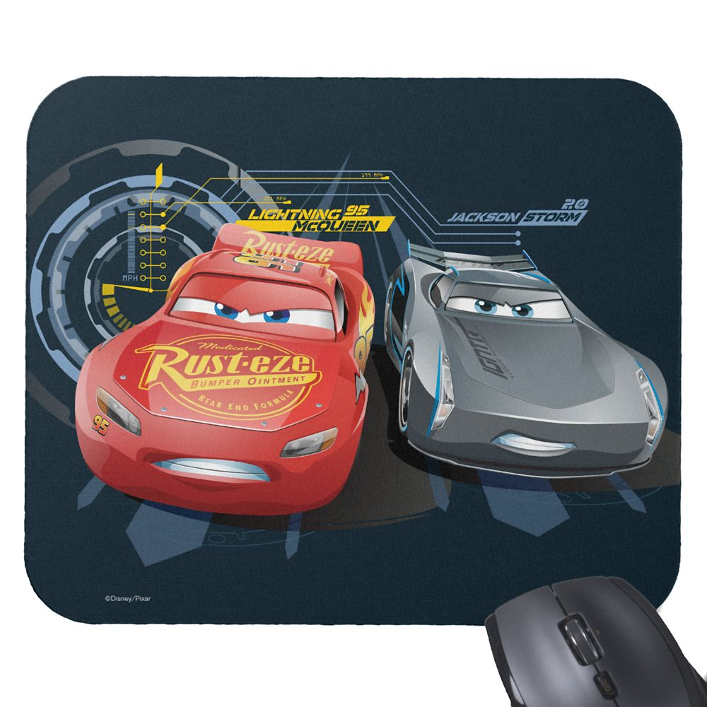 Cars 3 Mousepad – Customizable