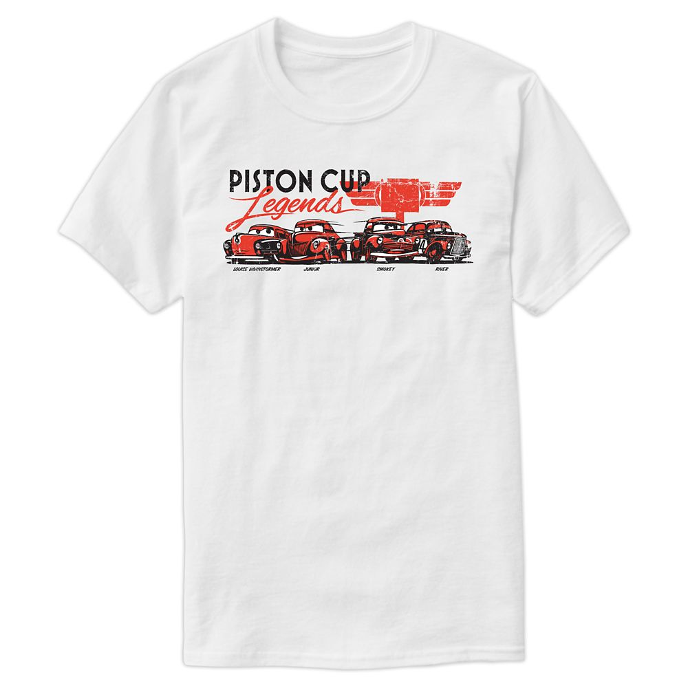 Cars 3 Piston Cup Champions Tee for Men – Customizable