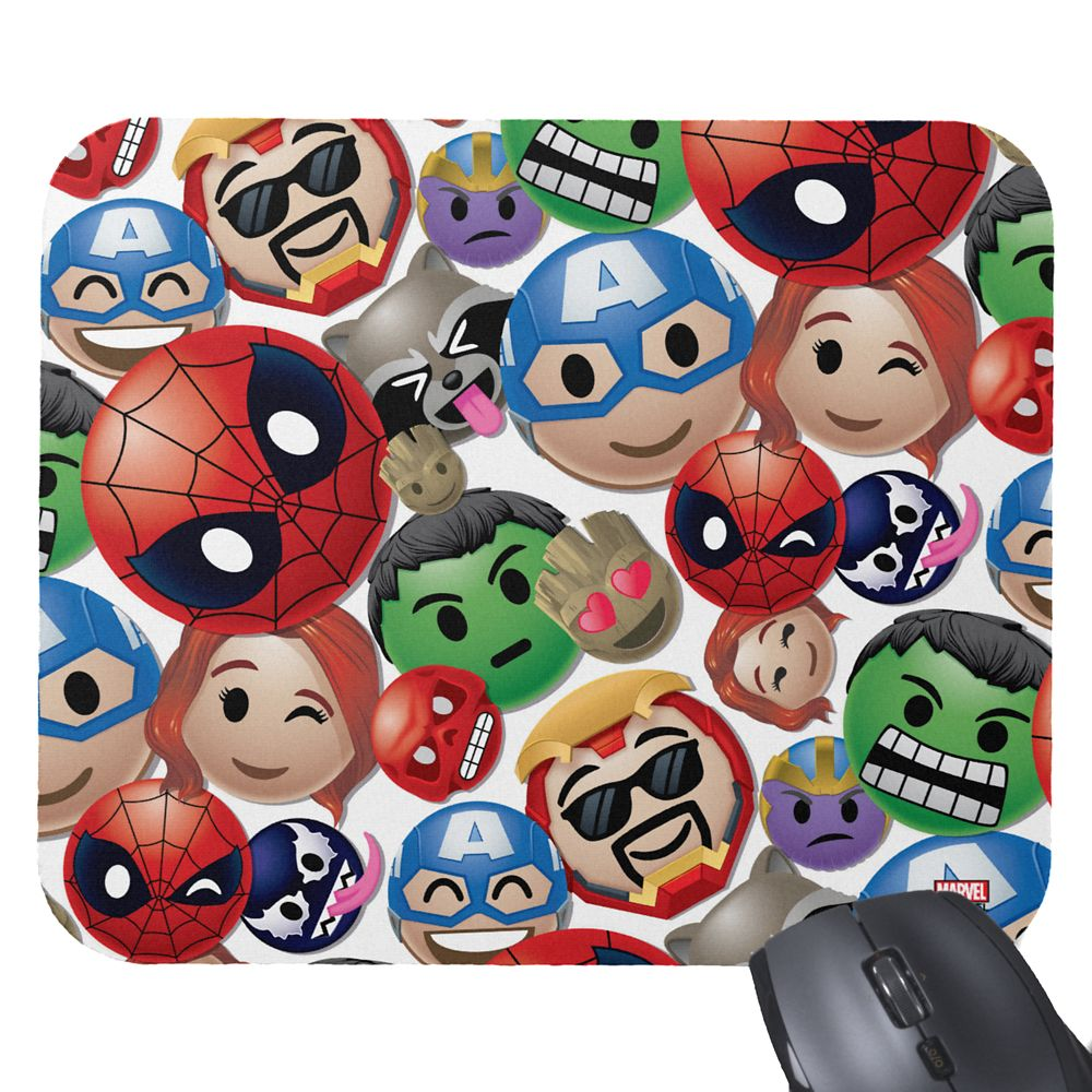 Marvel Emoji Mousepad – Customizable
