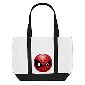 Spider-Man Winking Emoji Tote Bag - Customizable 7200001384ZESP