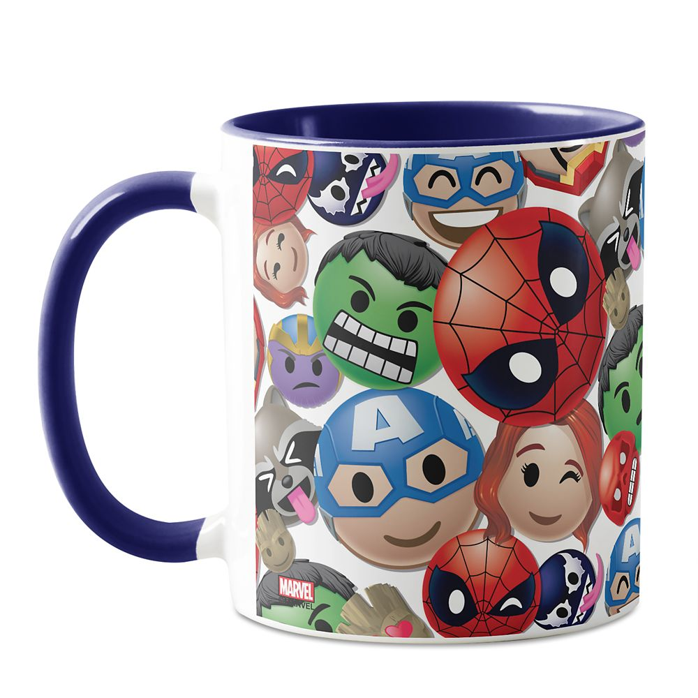 Marvel Emoji Coffee Mug – Customizable