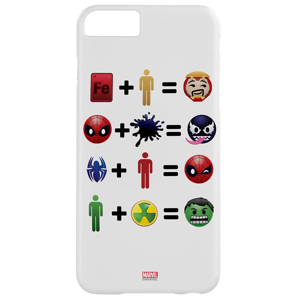 Marvel Emoji Equation iPhone 6/6S Plus Case – Customizable