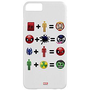 Disney Store Marvel Emoji Equation Iphone 6 / 6s Plus Case  -
