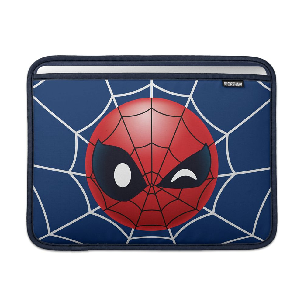 Spider-Man Winking Emoji MacBook Air Sleeve – Customizable