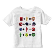 Marvel Emoji Equation Tee for Kids – Customizable
