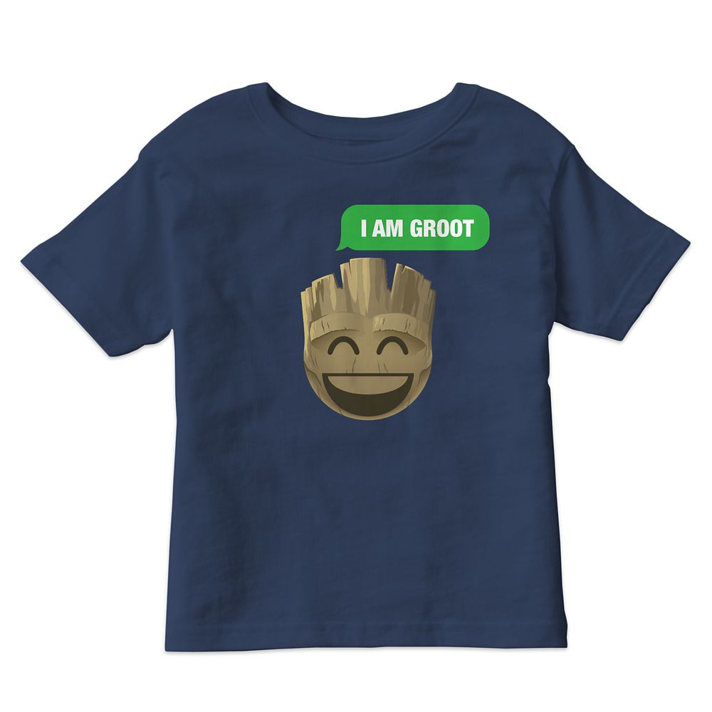 ''I Am Groot'' Text Emoji Tee for Kids – Customizable