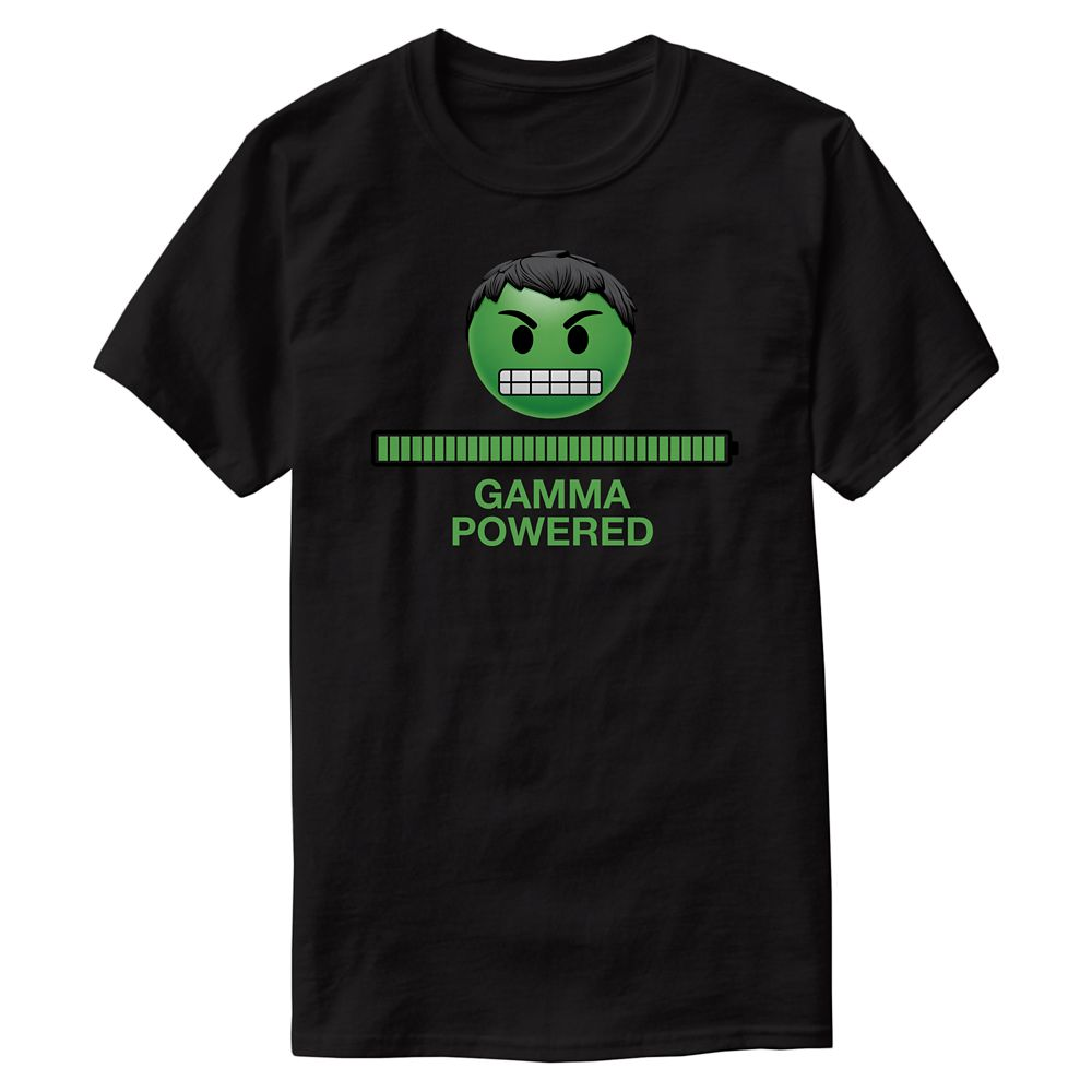 Hulk Gamma Powered Emoji Tee for Men – Customizable