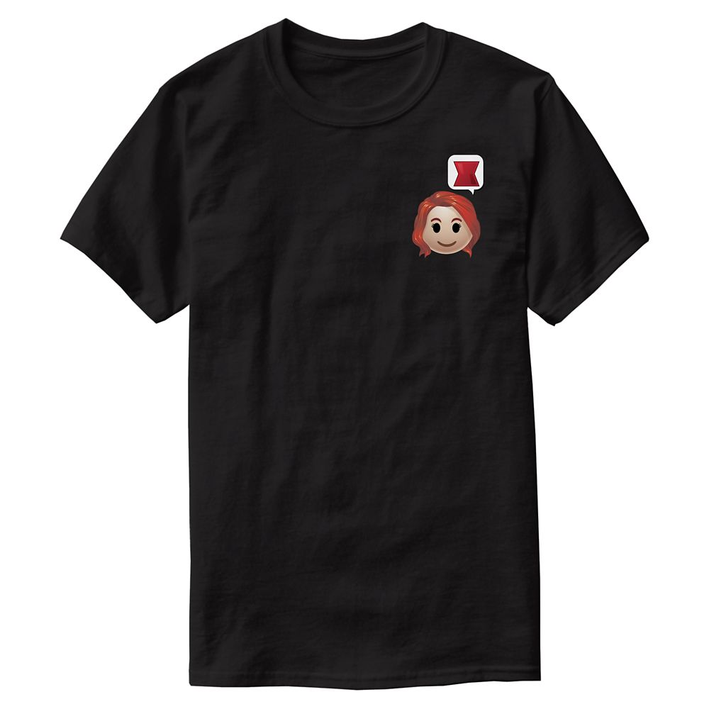 Black Widow Emoji Tee for Men  Customizable Official shopDisney