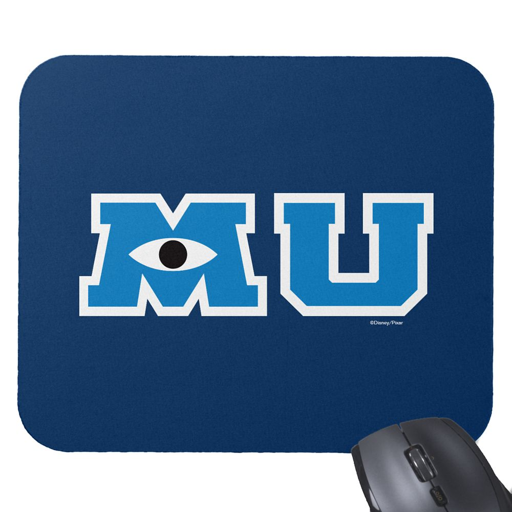 Monsters University Logo Mouse Pad – Customizable