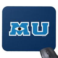 Monsters University Logo Mouse Pad – Customizable
