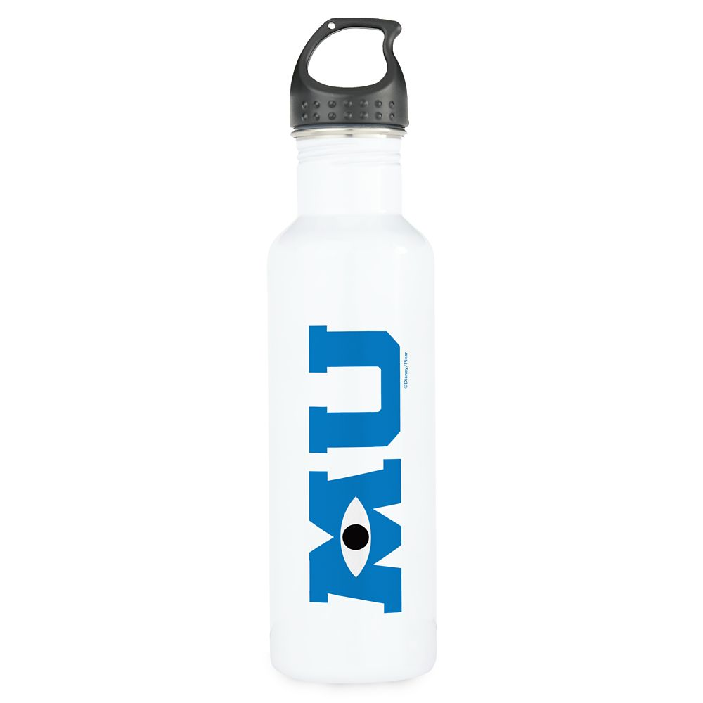 Monsters University Logo Water Bottle – Customizable