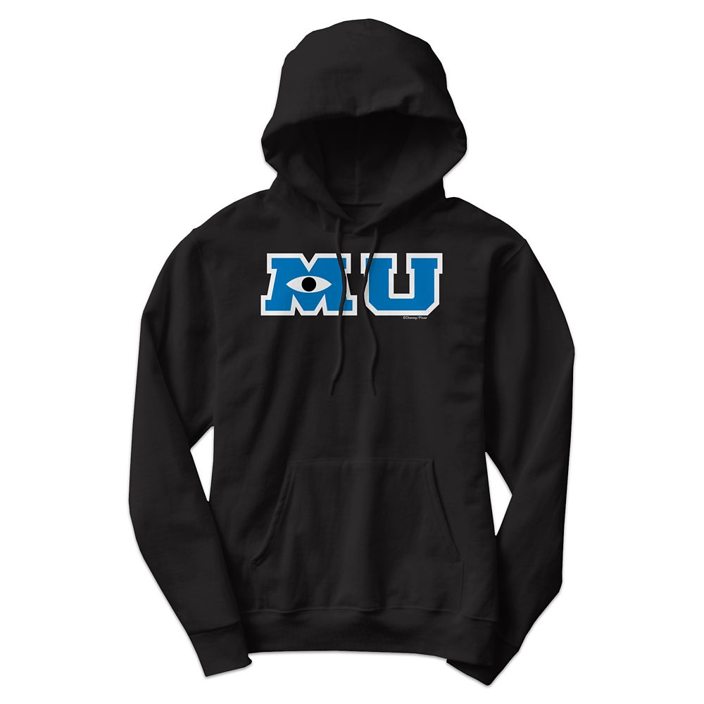 Monsters University Logo Hooded Sweatshirt for Adults – Customizable