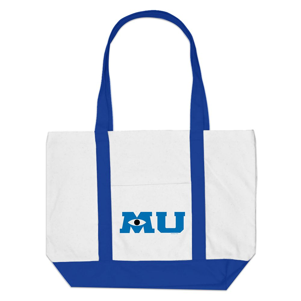 shopdisney.com - Monsters University Logo Tote Bag  Customizable Official shopDisney 26.95 USD