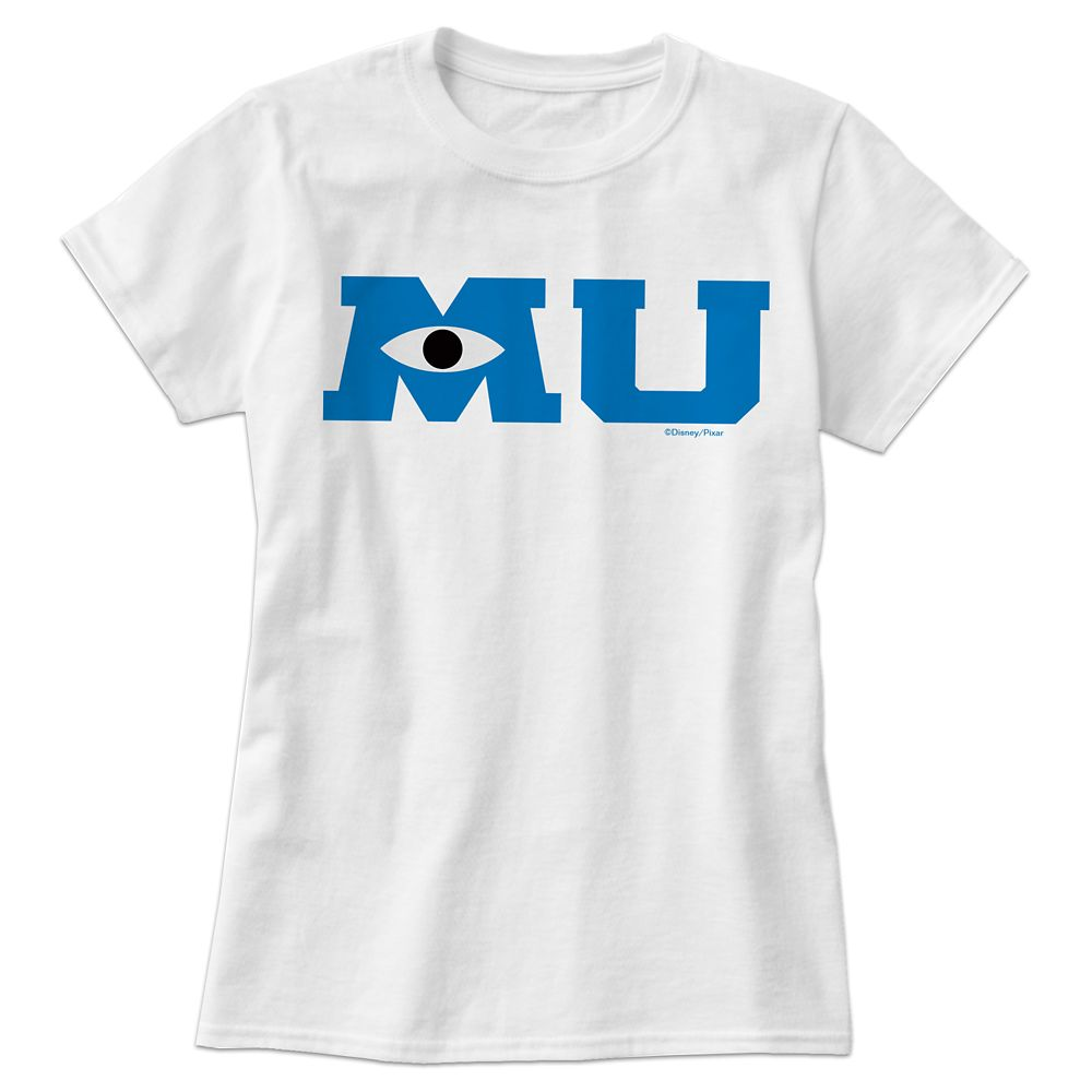 Monsters University Logo Tee for Women  Customizable Official shopDisney