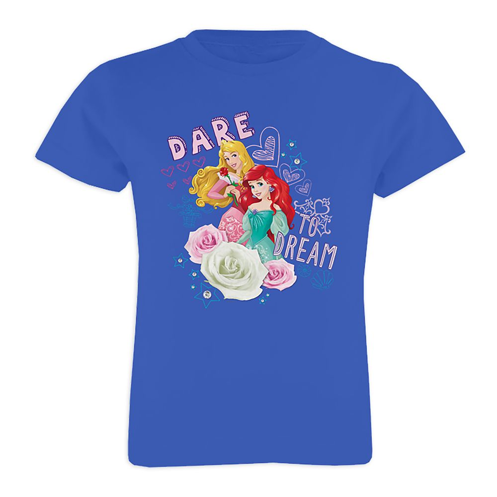 Disney Princess ''Dare to Dream'' Tee for Girls – Customizable