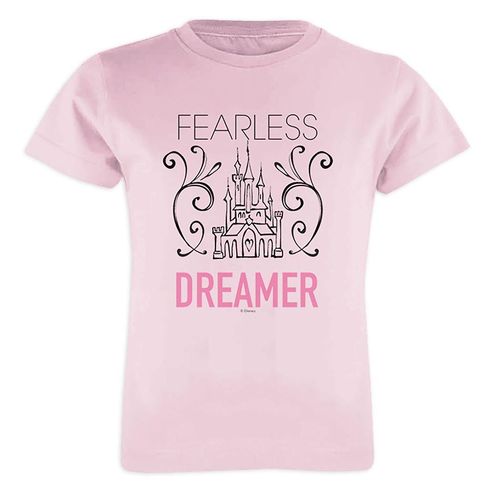 Disney Princess ''Fearless Dreamer'' Tee for Girls – Customizable