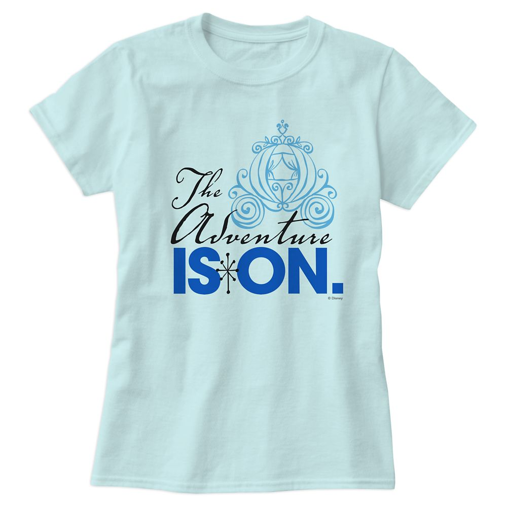 Cinderella ''The Adventure is On'' Tee for Women  Customizable Official shopDisney
