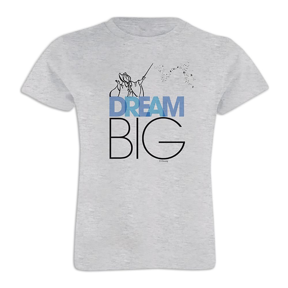 Cinderella ''Dream Big'' Tee for Girls  Customizable Official shopDisney