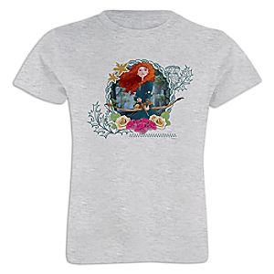 Merida Tee for Girls – Customizable