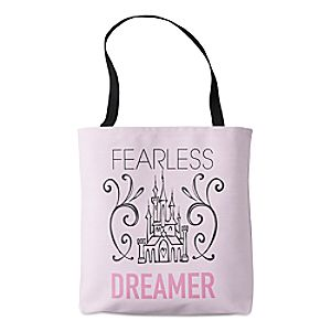 "Disney Princess ""Fearless Dreamer"" Tote – Customizable"