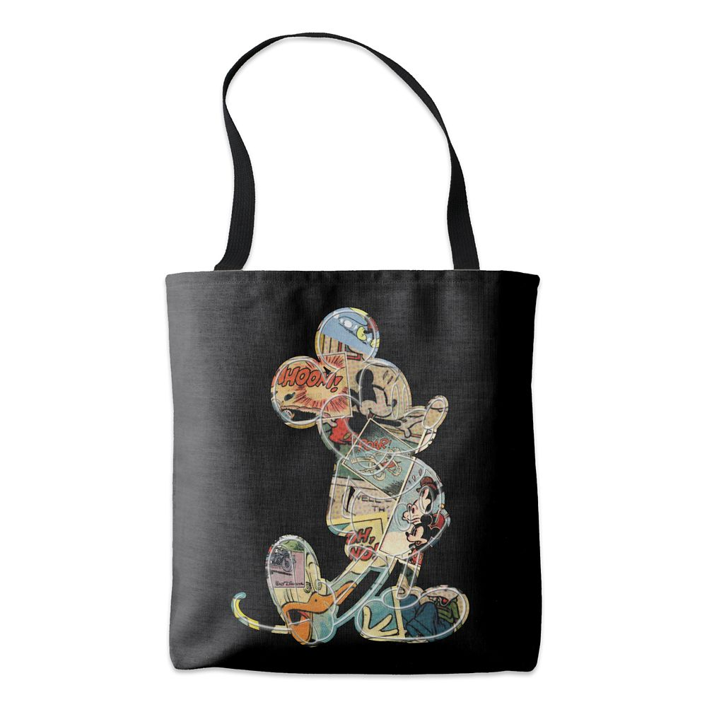 Mickey Mouse Comic Art Tote  Customizable Official shopDisney