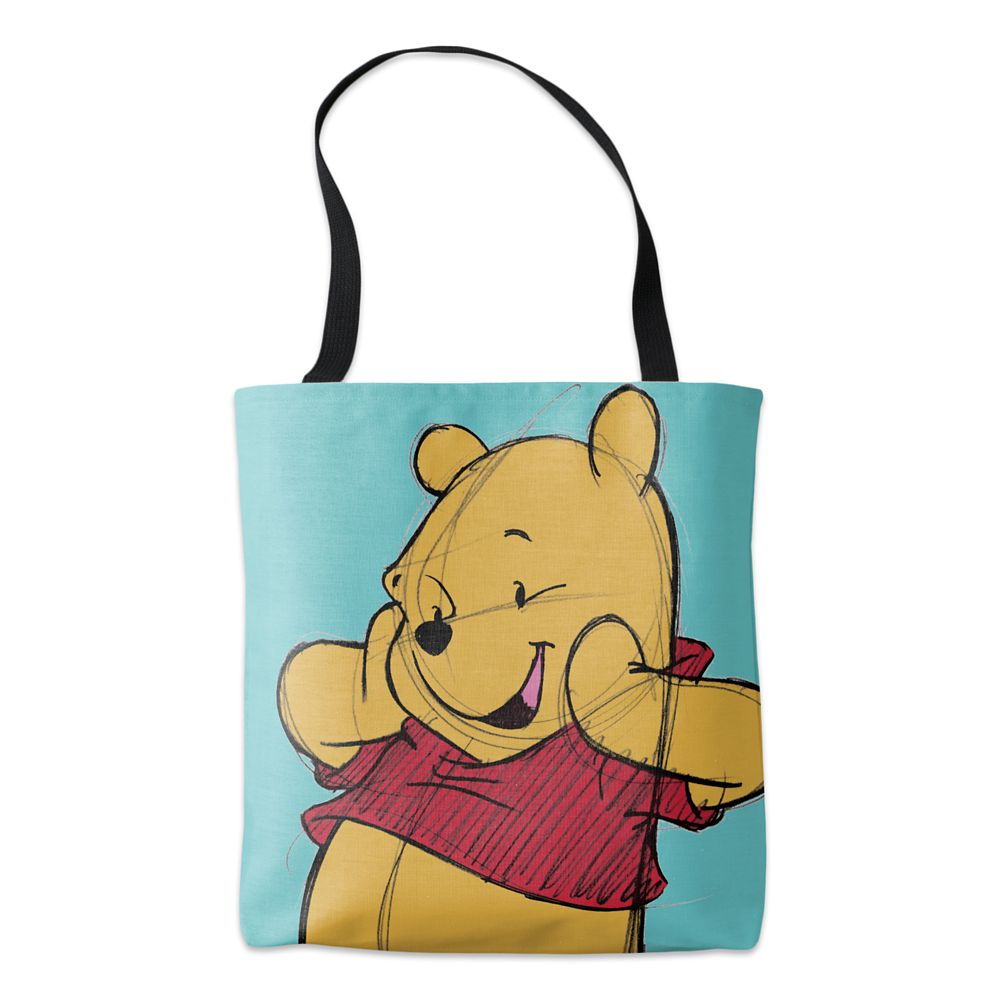 Winnie the Pooh Sketch Tote  Customizable Official shopDisney