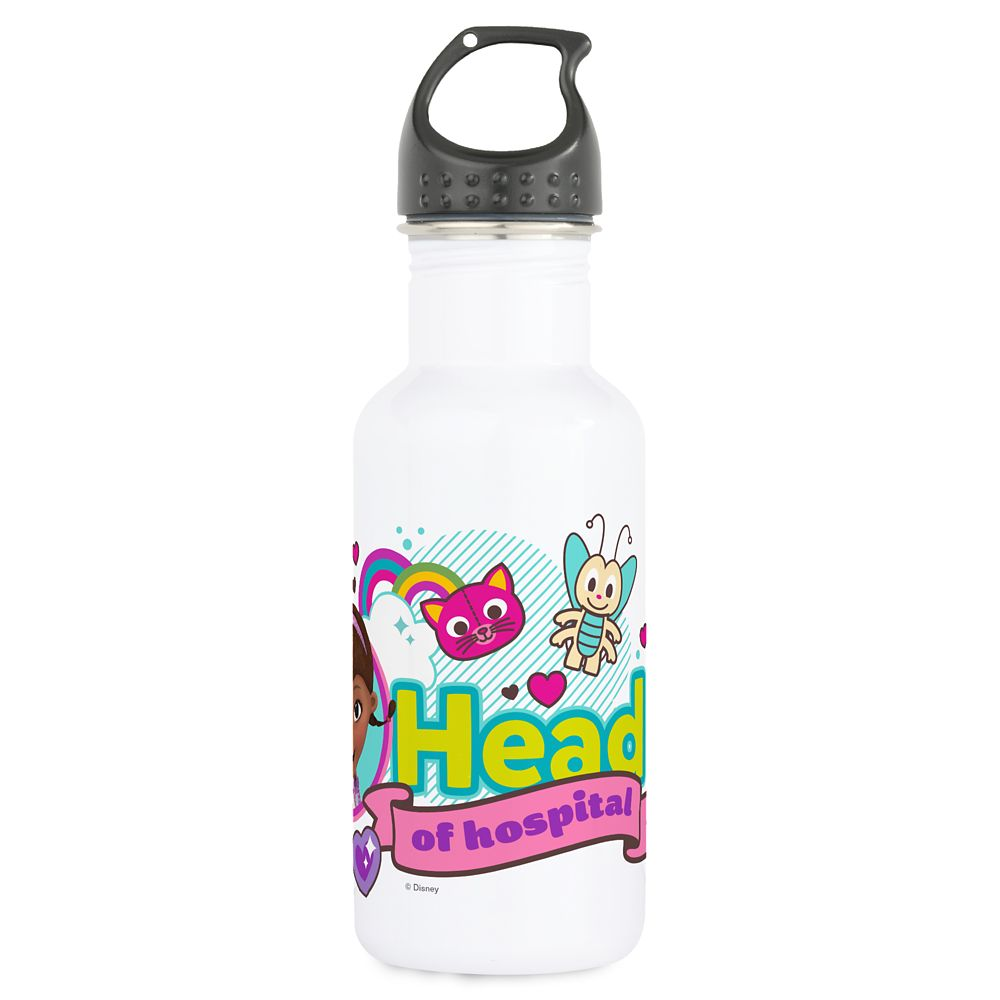 Doc McStuffins Water Bottle – Customizable