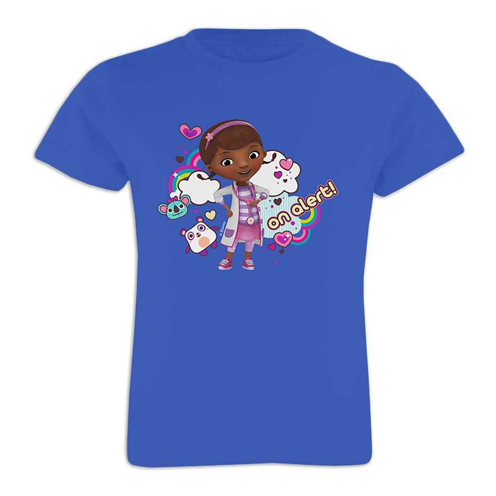 Doc McStuffins Tee for Girls – On Alert – Customizable