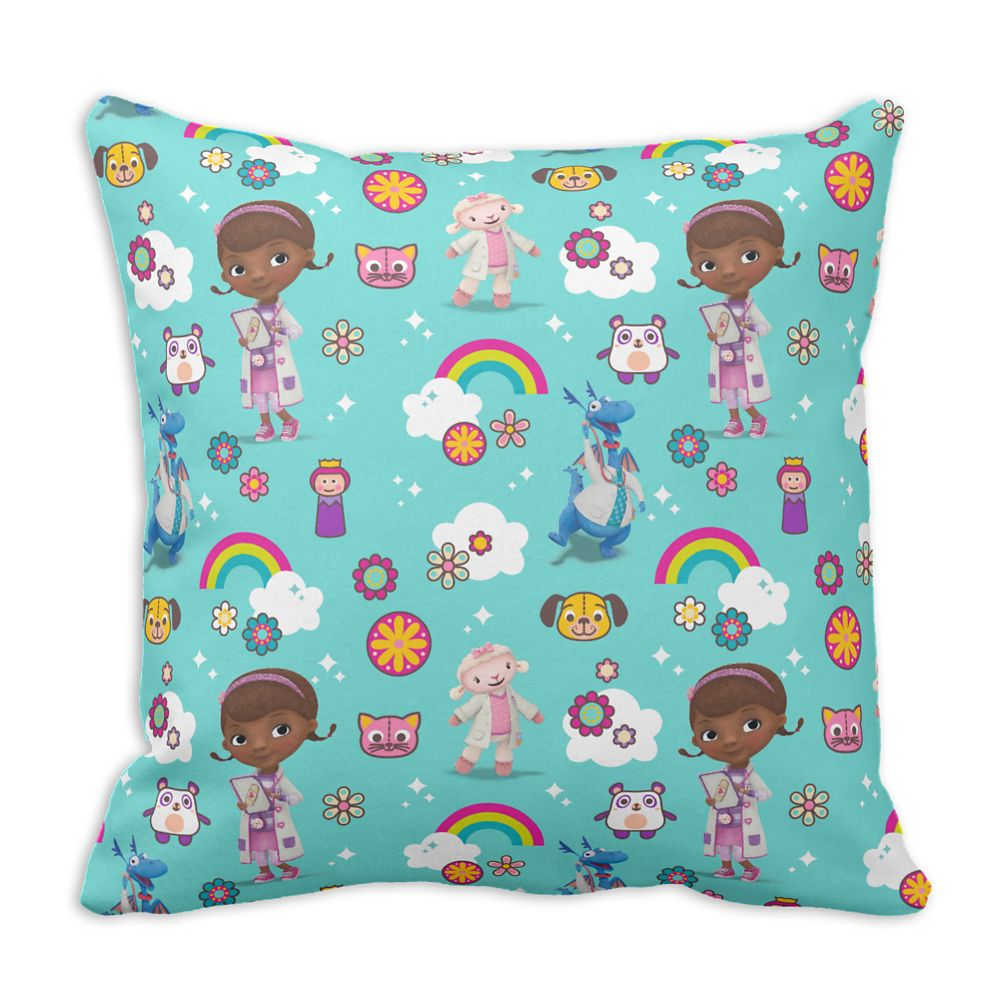 Doc McStuffins Throw Pillow – 16'' – Customizable