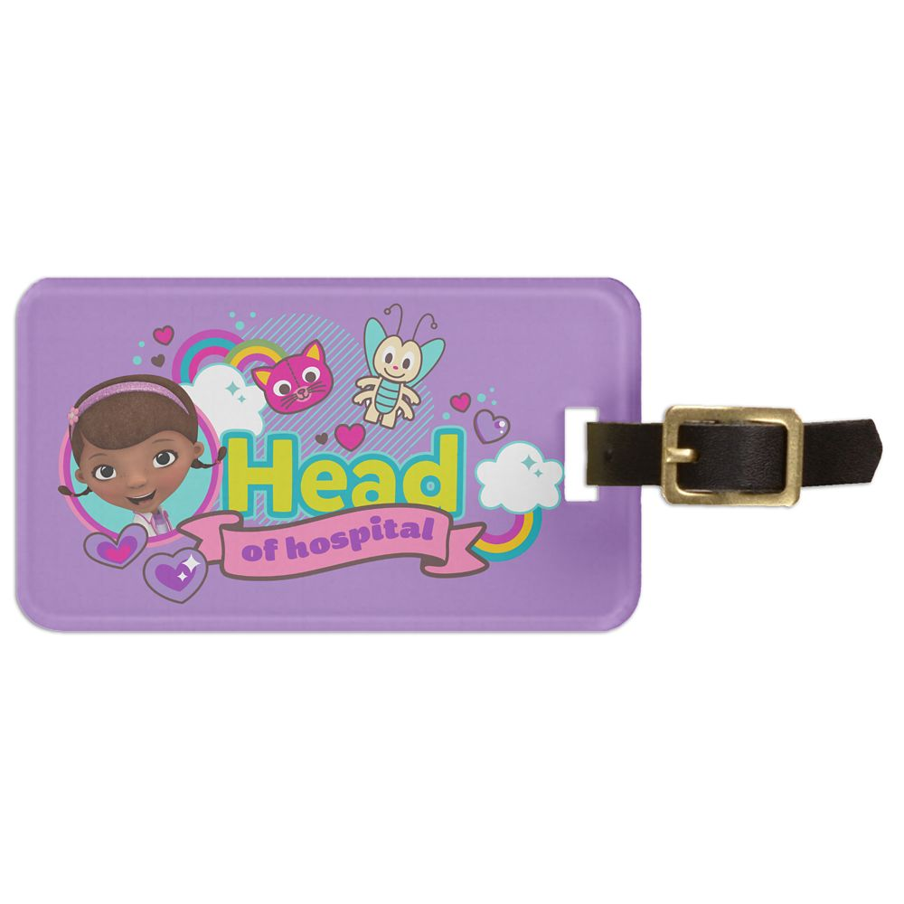 Doc McStuffins Luggage Tag  Customizable Official shopDisney