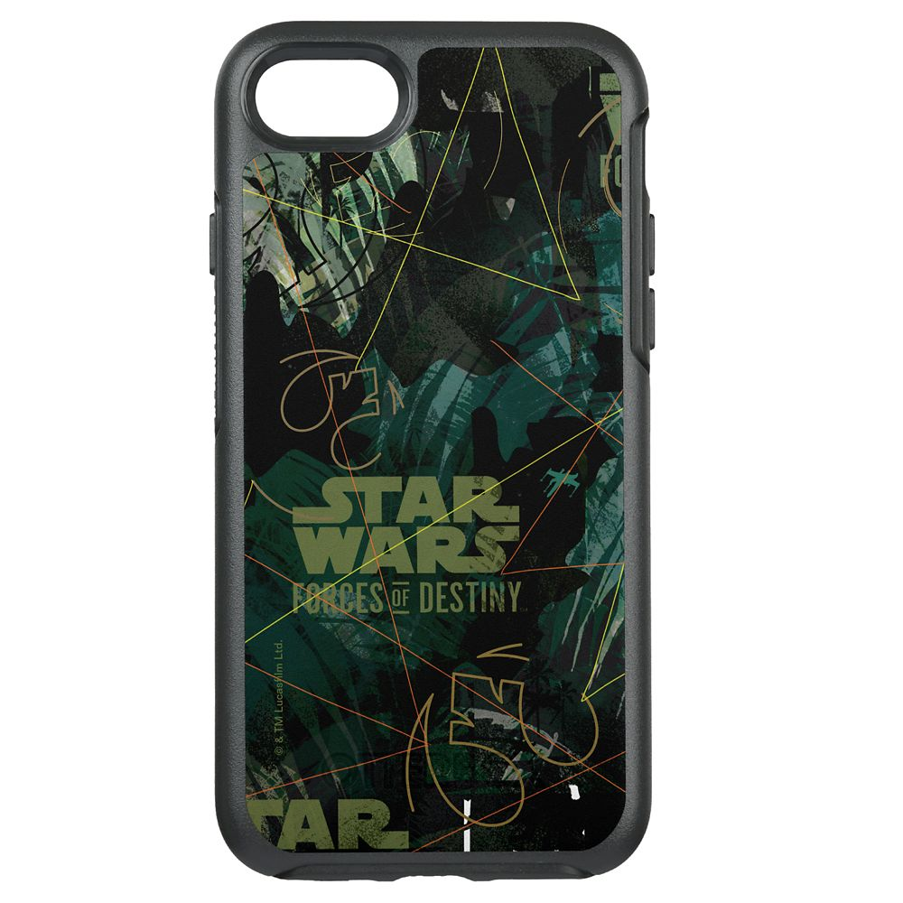Star Wars Jyn Pattern iPhone 7 Case – Customizable