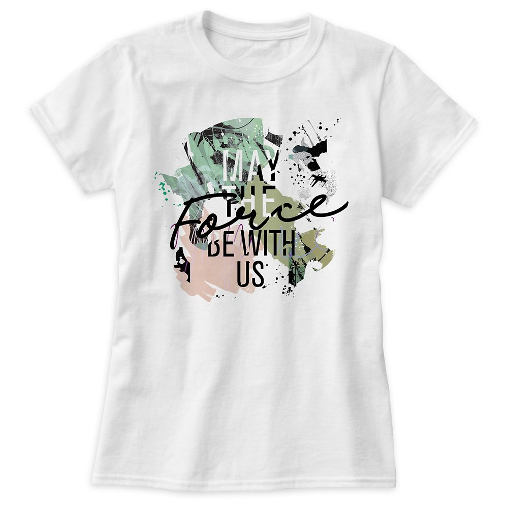 Star Wars ''May the Force Be With Us'' Tee for Women  Customizable Official shopDisney
