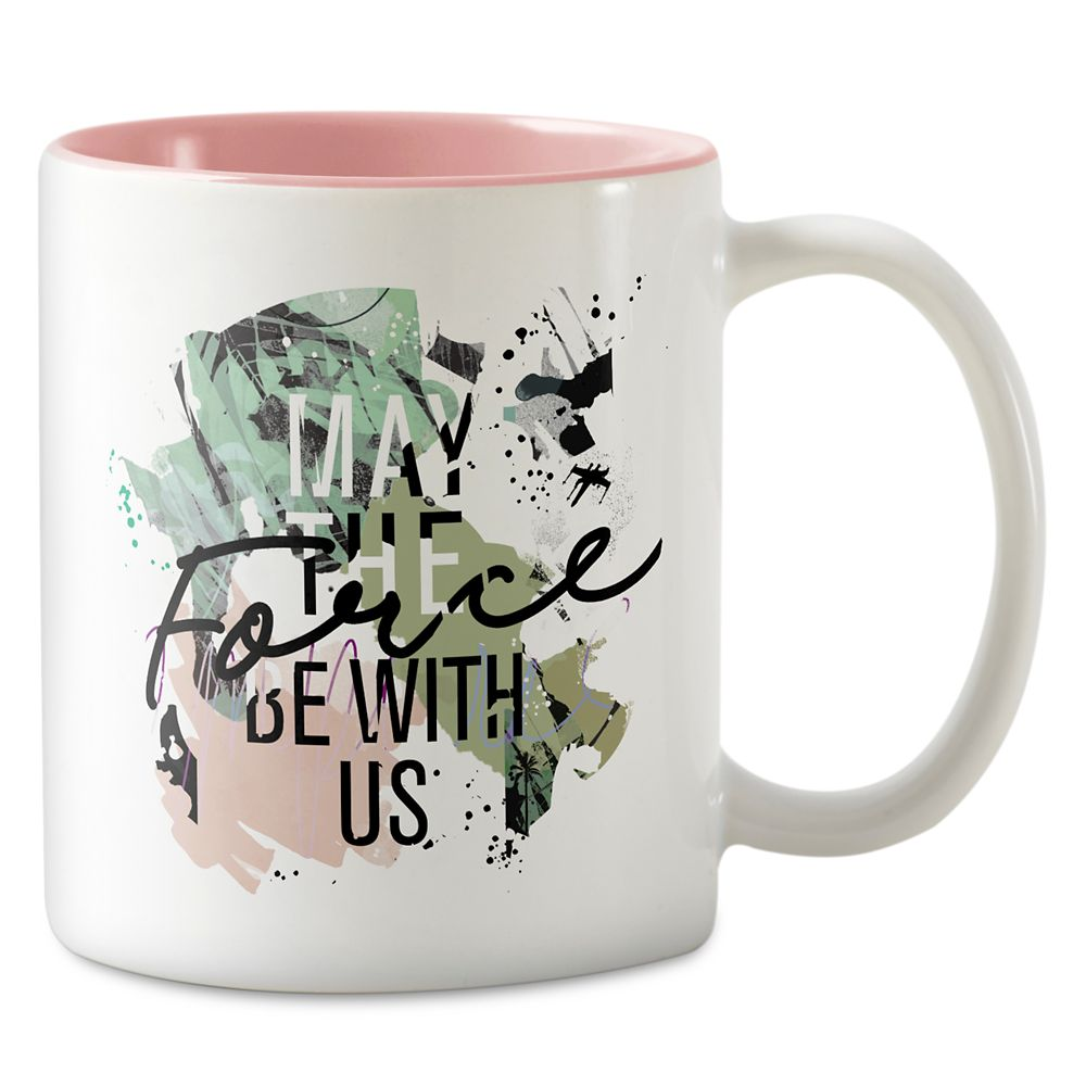 Star Wars ''May the Force Be With Us'' Two-Tone Coffee Mug – Customizable